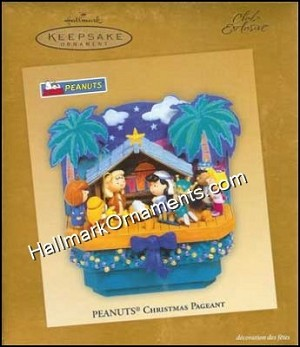 2005 Peanuts Christmas Pageant, Magic, Club - RARE
