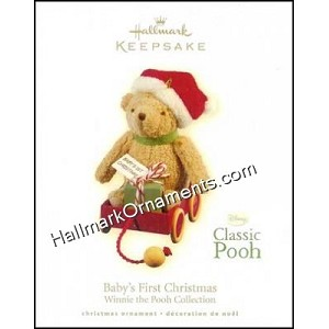 2009 Baby's First Christmas, Classic Pooh, Winnie the Pooh Collection