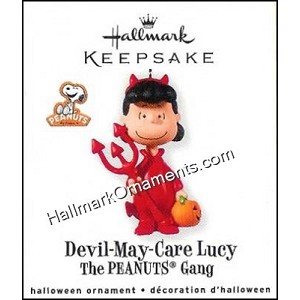 2010 Devil-May-Care Lucy, The Peanuts Gang
