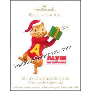 2011 Alvin's Christmas Surprise, Alvin and the Chipmunks