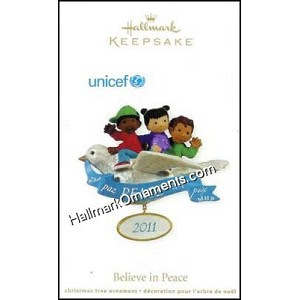 2011 Believe In Peace, Unicef