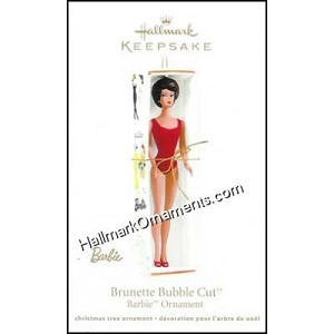 2011 Brunette Bubble Cut Barbie DB