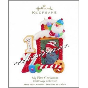 2011 My First Christmas, Child's Age Collection, Photo Holder