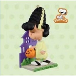 2011 A Monstrously Pretty Bride (Lucy), The Peanuts Gang, Halloween
