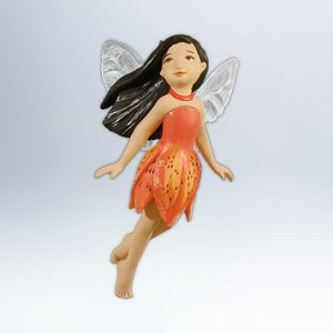 2012 Tiger Lily Fairy, Fairy Messengers #8 DB
