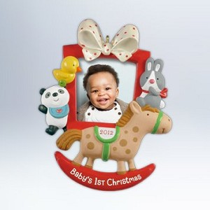 2012 Baby's First Christmas - Photo Holder