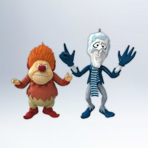 2012 Heat Miser and Snow Miser - RARE