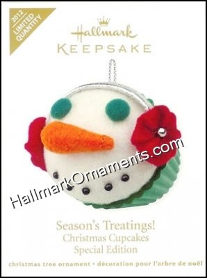 2012 Season's Treatings, Christmas Cupcakes, Limited Quantity