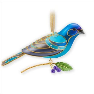 2013 Indigo Bunting, Beauty of Birds, COLORWAY, EVENT - RARE
