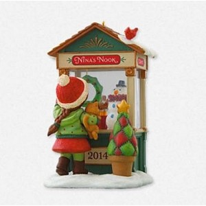 2014 Christmas Window #12, Club Ornament
