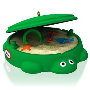 2014 Classic Turtle Sandbox Hallmark Ornament, Little Tikes