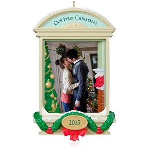 2015 Our First Christmas Together Photo Holder