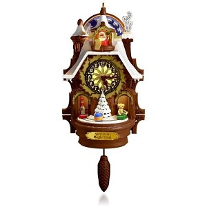 2015 Santa's Magic Cuckoo Clock, Magic Cord