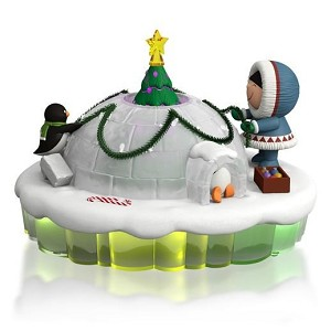 2015 Dome for the Holidays Frosty Igloo Mantelscape The World of Frosty Friends, Magic Cord