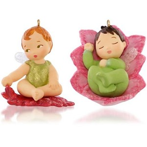 2015 Lotus and Poinsettia, Baby Fairy Messengers #1, Miniature