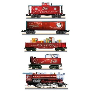 2015 - 2017 LIONEL Toymaker Santa Express, REAL ELECTRIC TRAIN SET - SOUND, SMOKE
