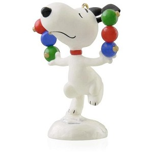 2015 Peanuts® Snoopy Trims the Tree
