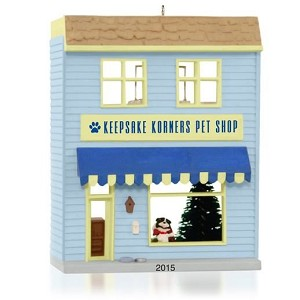 2015 Keepsake Korners Pet Shop, Nostalgic Houses and Shops #32