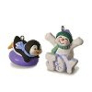 2016 Frosty Fun For You, Set of 2 Miniature Ornaments