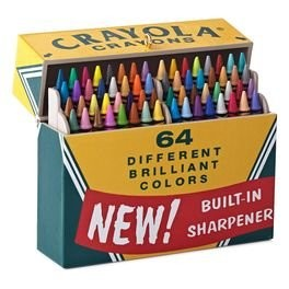 2016 Big Box of 64!, Crayola