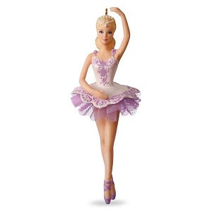 2017 Ballet Wishes Barbie Ornament