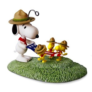 2017 Flag Folding Ceremony - The PEANUTS Gang