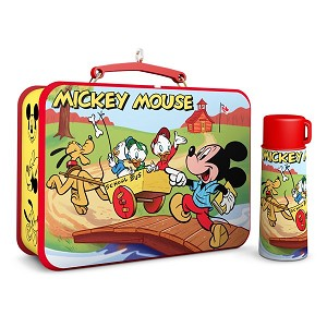 2017 Mickey Mouse Lunchbox - Disney Mickey and Friends