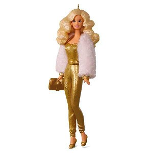 2017 Golden Dream Barbie Ornament, LIMITED EDITION