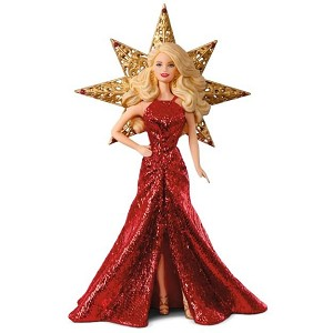 2017 Holiday Barbie Ornament #3, Caucasian