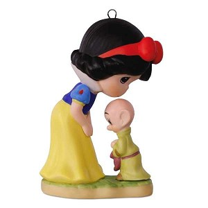 2017 Snow White and Dopey - Disney Snow White and the Seven Dwarfs, Precious Moments