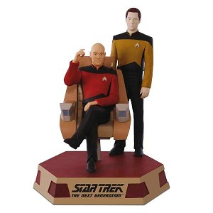 2017 Captain Jean-Luc Picard and Lieutenant Commander Data, Star Trek, Magic