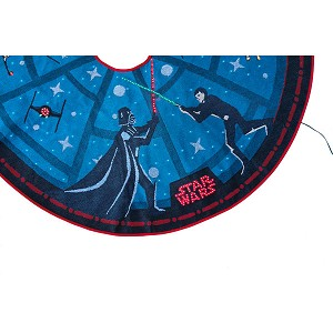 2018 The Force Is Strong Tree Skirt, Star Wars