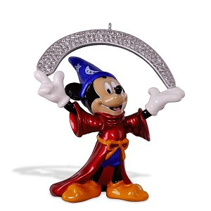 2018 The Sorcerer's Apprentice, Disney Fantasia, Premium Ornament