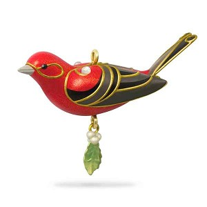 2018 Red Tanager, Miniature