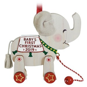 2019 Baby's First Christmas, Elephant - PRE-ORDER NOW, SHIPS AFTER JULY 13