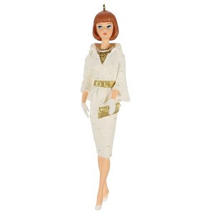 2019 On the Avenue Barbie Ornament, Barbie