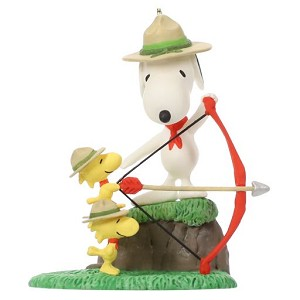 2019 Archery Practice - Snoopy and the Beagle Scouts