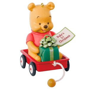 2019 Baby's First Christmas - Disney Winnie the Pooh - PRE-ORDER NOW, SHIPS AFTER JULY 13