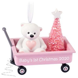 2020 Baby Girl's First Christmas