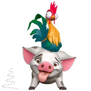 2020 Pua and Hei Hei, Disney Moana - PRE ORDER NOW - SHIPS AFTER JULY 13