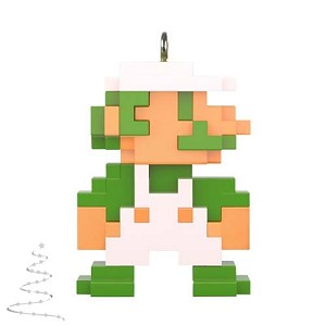 2020 8-Bit Luigi, Miniature - PRE-ORDER NOW, SHIPS AFTER OCT 5