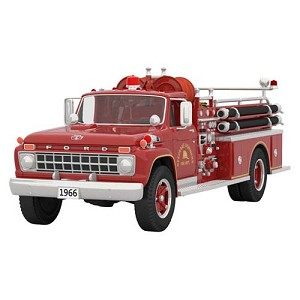2021 1966 Ford Fire Engine, Fire Brigade #19, Magic - PRE ORDER NOW - SHIPS AFTER JULY 12