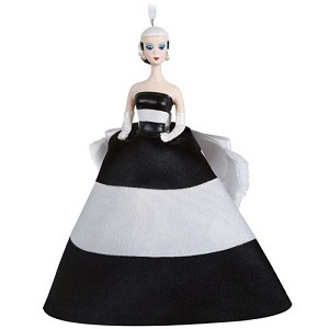 2021 Black and White Forever, Barbie Ornament - PRE ORDER NOW - SHIPS AFTER JULY 12