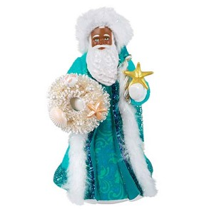 2021 Father Christmas, Af-Am - PRE ORDER NOW - SHIPS AFTER JULY 12