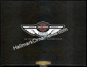 2003 Serial Number One Harley-Davidson Set