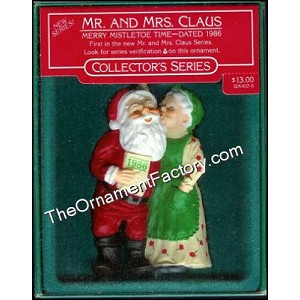 1986 Mr and Mrs Claus #1