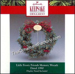 1990 Frosty Friends Memory Wreath - DB