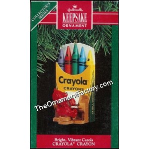 1991 Bright Vibrant Carols, Crayola #3