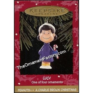 1995 Lucy, Charlie Brown Christmas, PEANUTS