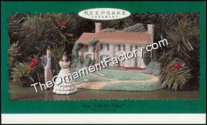 1996 Gone With the Wind, 3 PC Miniature set
